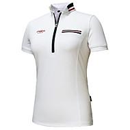 hesapli Golf Giysileri-Kadın's Golf Tişört Hızlı Kurulama Rüzgar Geçirmez Giyilebilir Hava Alan Golf Dış Mekan Egzersizi