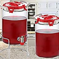 billiga Köksförvaring-Rostfri Hög kvalitet transparent kropp Förvaring Mat förråd 1st Kök Organisation