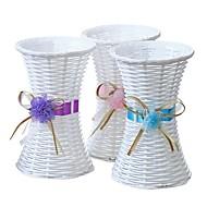 hesapli Vazolar & Pota-Yapay Çiçekler 0 şube Pastoral Stil Vase Masaüstü Çiçeği / Tek Vazo