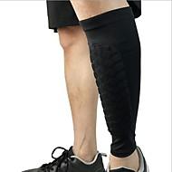 billige Sportsstøtter-Støtte til skinnelegg til Racerløp Basketball Jogging Løp Unisex Nedslags Resistent Non-Slip Sport & Utendørs Elastan Spandex 1 stk Svart