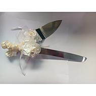 cheap Serving Sets-Stainless Steel Beach Theme Garden Theme Vegas Theme Fairytale Theme Birthday Family Wedding OPP Shovel Knives Gift Boxes