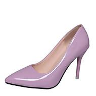 Mujer Zapatos Lentejuelas Primavera Confort Tacones Tacón Stiletto Dedo redondo Lentejuela / Hebilla Negro / Verde / Rosa Excellente En Ligne Jc0hh0
