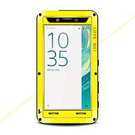 billiga Mobil cases & Skärmskydd-fodral Till Sony Xperia X Fri Från Vatten / Smuts / Stöt Fodral Ensfärgat Hårt Metall för Sony Xperia X