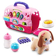 cheap Dress Up & Pretend Play-Pretend Professions & Role Playing Animals Dog Family Singing Talking Parent-Child Interaction A Grade ABS Plastic Girls' Kid's Gift