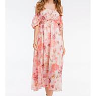 Žene Ulični šik Swing kroj Haljina Cvjetni print Maxi