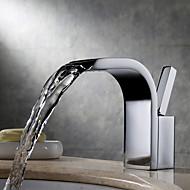 Robinet lavabo - Jet pluie / Séparé Chrome Montage Mitigeur un trouBath Taps