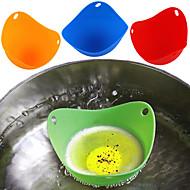 billige Bakeredskap-kjøkken Verktøy Silikon / Miljøvennlig materiale Multifunksjonell / Økovennlig / Myk Eggeverktøy / Iskremsverktøy / Dessertverktøy Kake / Pai / for Egg 4stk