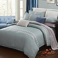 billige Hjemmetekstiler-Sengesett Luksus Polyester / Bomull Reaktivt Trykk 3 deler