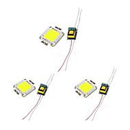 billige belysning Tilbehør-3pcs Led Brikke Strømforsyning Aluminium Bulb Accessory