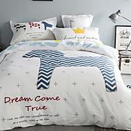 cheap Duvet Covers-Duvet Cover Sets Cartoon 3 Piece Poly/Cotton Reactive Print Poly/Cotton 1pc Duvet Cover 1pc Sham 1pc Flat Sheet