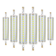 billige Kornpærer med LED-YWXLIGHT® 6pcs 8W 700-800 lm R7S LED-kornpærer 72 leds SMD 2835 Mulighet for demping Dekorativ Varm hvit Kjølig hvit Naturlig hvit AC