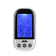 tanie Ulepszanie domu-inteligentny czujnik temperatury mięsa termometr czujnik temperatury gotowania alarm 8 typów smaku opcji