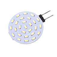 billige Bi-pin lamper med LED-SENCART 1pc 1.5 W 160 lm G4 LED-lamper med G-sokkel T 27 leds SMD 4014 Dekorativ Varm hvit Hvit 12V