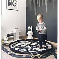 Toys Storage Bag-Road Map Alati Igračke za kućne ljubimce Krug Obitelj Posteljina / pamuk Blend Komadi