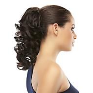 Klips I/På Paryk Tilbehør Afrikanske fletninger Syntetisk hår Hårstykke Hårpåsætning Lige 14 tommer (ca. 36cm) Hverdag