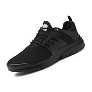 Muškarci Cipele Til Mreža Jesen Svjetleće tenisice Sneakers Elastika Vezanje za Kauzalni Vanjski Obala Crn Crvena Bijela/plava zaslon u