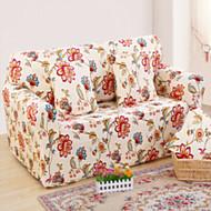 billige Overtrekk-Moderne 100% Polyester Mønstret Toseters sofatrekk, Enkel Blomstret Trykket slipcovere