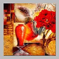 billiga Oljemålningar-Hang målad oljemålning HANDMÅLAD - Religiöst Vintage Duk