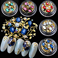 cheap Nail Art-5 Glamorous Glitter Crystal Metal Beads Rhinestones Nail Jewelry Jewelry Sets Accessory Decorations Jewelry More Accessories