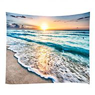 billige Veggdekor-Strand Tema Pirater Veggdekor 100% Polyester Moderne Veggkunst, Veggtepper Dekorasjon