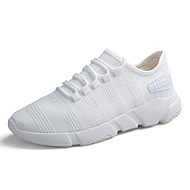 Muškarci Cipele PU Proljeće Jesen Udobne cipele Atletičarke tenisice za Vanjski Obala Crn Sive boje