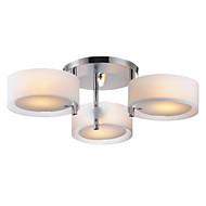 billige Takbelysning og vifter-Lightinthebox Takplafond Omgivelseslys Krom Metall Akryl Mini Stil 110-120V / 220-240V Pære ikke Inkludert / E26 / E27