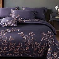billige Luksuriøse dynetrekk-Sengesett Luksus Polyester / Bomull / 100% bomull Reaktivt Trykk 4 deler