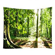 billige Veggdekor-Landskap Stilleben Veggdekor 100% Polyester Klassisk Moderne Veggkunst, Veggtepper av