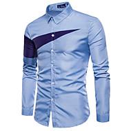 Majica Muškarci Izlasci Color block Slim