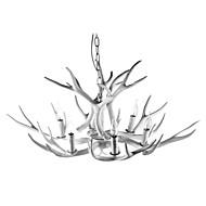 billige Takbelysning og vifter-6-Light Candle-stil Anheng Lys Omgivelseslys Malte Finishes Harpiks Kreativ 110-120V / 220-240V Varm Hvit Pære ikke Inkludert / FCC