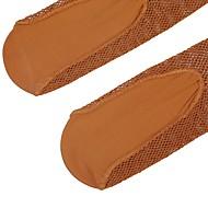 お買い得  靴用品-1ペア 女性用 ソックス ソリッド レッグシェイピング スパンデックス EU36-EU42