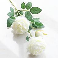 billige Kunstig Blomst-Kunstige blomster 2 Afdeling pastorale stil / Europæisk Stil Pæoner Bordblomst