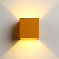billige Vegglamper med LED-ZHISHU Mini Stil / Vanntett Enkel / Moderne / Nutidig Vegglamper Stue / Soverom / Spisestue Metall Vegglampe 110-120V / 220-240V 6W
