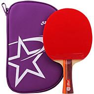 tanie Tenis stołowy-DHS® R2002 FL Ping Pang/Rakiety tenis stołowy Gumowy 2 Gwiazdki Długi uchwyt Pryszcze