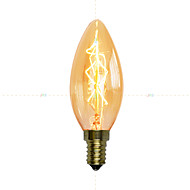 billige Glødelampe-1pc 40W E14 C35 K AC 220-240V V