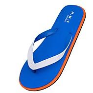 baratos Sapatos Masculinos-Homens PVC Primavera / Verão Conforto Chinelos e flip-flops Preto / Azul Escuro / Azul Claro