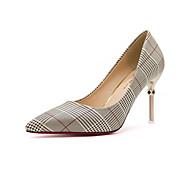 Χαμηλού Κόστους Prom Shoes-Γυναικεία Παπούτσια PU Καλοκαίρι Ανατομικό / Svítící podrážky Τακούνια Τακούνι Στιλέτο Μυτερή Μύτη Αγκράφα Χρυσό / Μαύρο / Ασημί / Φόρεμα
