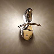 billige Vegglamper-ZHISHU Mini Stil Enkel / Moderne / Nutidig Vegglamper Stue / Soverom / Spisestue Metall Vegglampe 110-120V / 220-240V 5W