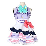 cheap Anime Cosplay-Inspired by Love Live Other Anime Cosplay Costumes Cosplay Suits Other Sleeveless Cravat 1 Bracelet Dress Bow More Accessories For Men's