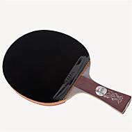baratos Tenis de Mesa-DHS® Hurricane Long FL Ping Pang/Tabela raquetes de tênis De madeira Fibra de carbono Borracha Cabo Comprido Espinhas