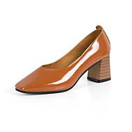 お買い得  レディースフラットシューズ-女性用 靴 PUレザー 春 秋 コンフォートシューズ フラット ラウンドトウ スパークリンググリッター のために カジュアル ブラック ベージュ Brown ライトブラウン