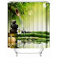 tanie Zasłony prysznicowe-Zasłony prysznicowe Współczesny Poliester Nowość Wodoodporne