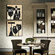 billige Innrammet kunst-Still Life Mat Tegning Veggkunst, Plastikk Materiale med ramme For Hjem Dekor Rammekunst Stue