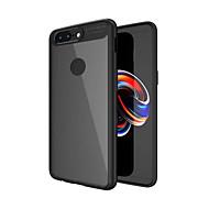 billiga Mobil cases & Skärmskydd-fodral Till OnePlus OnePlus 5T 5 Stötsäker Genomskinlig Skal Ensfärgat Hårt PC för One Plus 5 OnePlus 5T