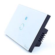 baratos Renovando-Painel do interruptor de toque wi-fi inteligente para led luz cristal app tempo de programação remota ios android