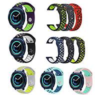 billiga Smart klocka Tillbehör-Klockarmband för Gear Sport Gear S2 Classic Samsung Galaxy Sportband Silikon Handledsrem