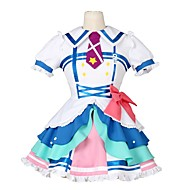 cheap Anime Cosplay-Inspired by Love Live Other Anime Cosplay Costumes Cosplay Suits Other Short Sleeves Dress Bow More Accessories Tie For Men's Women's