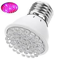 billige Spotlys med LED-1pc 2 W 200 lm E26 / E27 Voksende lyspære 38 LED perler Dyp Led Rød / Blå 220-240 V / 110-130 V