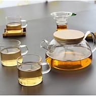 billige Kaffe og te-glass Varmebestandig 5 stk Tesil