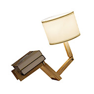 billige Lamper-Kunstnerisk Øyebeskyttelse Bordlampe Til Stue Tre/ Bambus 220V Hvit